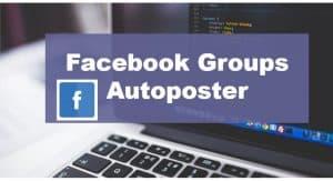 Facebook groups autoposter